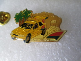 PIN'S   CITROEN  ZX  RALLYE RAID  C E AULNAY   EMC - Citroën