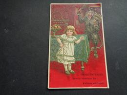 Enfant ( 4343 )   Kind   -  Carte Gaufrée   Reliëf  -  Devil  Diable   Duivel - Enfants