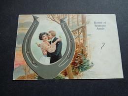 Couple ( 93 )  Koppel   Carte Gaufrée  Reliëf - Couples