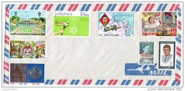 PHS14501 Philippines Airmail Cover With Wonderfull  Combination Of Stamps - Philippines