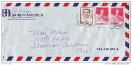 PHS14504 Philippines 1982  P.T.P.O. Airmail Cover Nice Franking W/ Slogan Addressed USA - Philippines