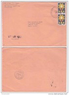 PHS14505 Philippines 1988  P.T.P.O. Airmail Cover Franking Pasko 88 Addressed Egypt - Philippines