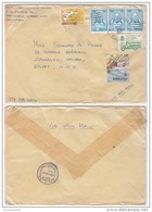 PHS14508 Philippines 1987 Airmail Cover Franking Wonderfull Combination Addressed Egypt - Philippines