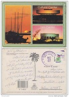 PHS18501 Philippines 1997  Cultural Center Postcard Franking Flag Addressed Egypt - Philippines