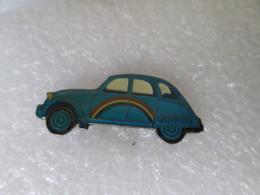 PIN'S   CITROEN  2  CHEVAUX  GAULOISES - Citroën