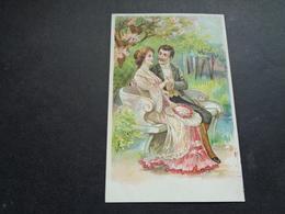 Couple ( 99 )  Koppel   Carte Gaufrée  Reliëf - Couples
