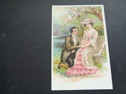 Couple ( 101 )  Koppel   Carte Gaufrée  Reliëf - Couples