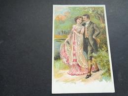 Couple ( 102 )  Koppel   Carte Gaufrée  Reliëf - Couples