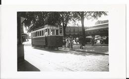Photo Format  - Thème Transport - Tramway à Nancy En 1953 - Trains