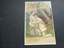 Couple ( 104 )  Koppel   Carte Gaufrée  Reliëf - Couples
