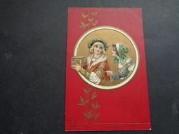 Couple ( 110 )  Koppel   Carte Gaufrée  Reliëf - Couples