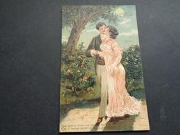 Couple ( 113 )  Koppel   Carte Gaufrée  Reliëf - Couples