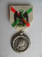 Médaille Du Mexique, Napoléon III, Signée SACRISTAIN. F,  Rare - Médailles & Décorations