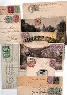TIMBRE ..TYPE BLANC.....VOIR DETAIL......LOT DE 48 SUR CPA.....VOIR SCAN......LOT 26 - 1900-29 Blanc