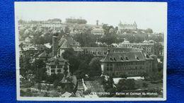 Fribourg Eglise Et College St. Michel Switzerland - FR Fribourg