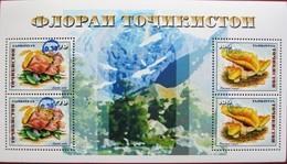 Tajikistan  2018  Mushrooms  Blue  OP  S/S  MNH - Champignons