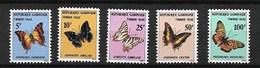 GABON 1978 BUTTERFLIES  MNH - Butterflies