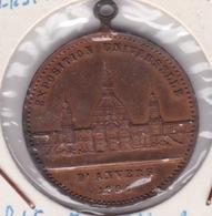 Médaille - Jeton - Expo Universelle D'ANVERS 1894 - BELGIQUE - Monétaires / De Nécessité