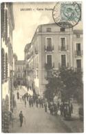 SASSARI CARRA PICCOLA Strada Animata Viaggiato 1912 - Sassari