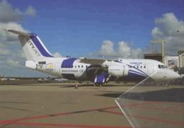 British Aerospace BAe Avro RJ 146 CityJet EI-RJX Irlanda Aviation Airlines City Jet Aereo Avion Leinster Rugby - 1946-....: Era Moderna
