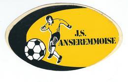 ANSEREMME - Autocollant - J.S. Anseremmoise - Football - Dinant