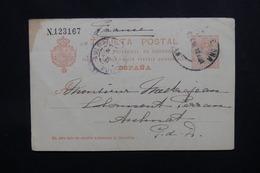 ESPAGNE - Entier Postal De Barcelone En 1912 Pour La France - L 54125 - 1850-1931