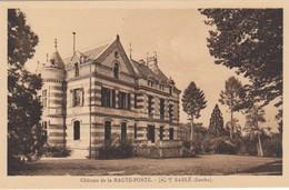 Sablé. Château De La Haute-Porte - Sable Sur Sarthe