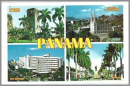 CP Panama, Puente Del Mundo, Multiview  Unused - Panama
