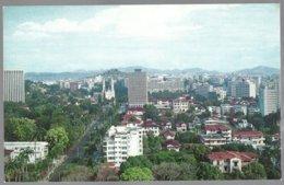 CP Panoramic View Of Federico Boyd Anenue, Panama . Unused - Panama