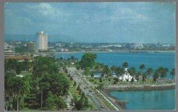 CP  FF-4-002-Balboa Avenue, Panama City . Unused - Panama