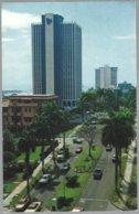 CP FF4-037- Partial View Of Federico Boyd Anenue, Panama . Unused - Panama