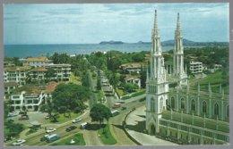 CP  FF-281b- Avenida Federico Boyd In Bella Vista,Church Of The Carmelite Fathers, Panama City. Unused - Panama
