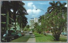 CP FF-606- Via Argentina,Residential Section Of El Cangrejo, Panama City. Unused - Panama