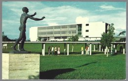 CP  FF-219-The Statue Towards The Light On The Spacious Campus Of The University Of Panama,Panama City . Unused - Panama