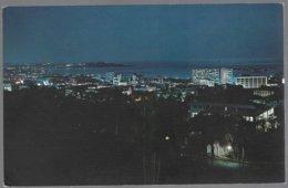 CP  FF-603-Night Scene Of  Panama City. Unused - Panama