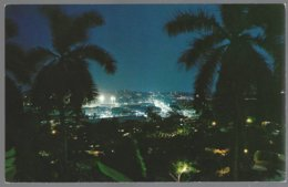 CP FF-604- Night Scene Of  Panama City. Unused - Panama
