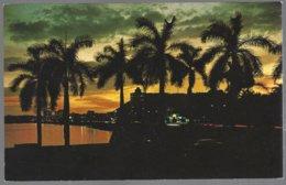 CP FF-399- Sunset Balboa Avenue.Panama City. Unused - Panama