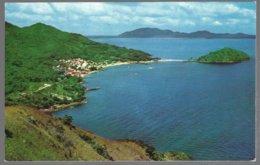 CP  FF-061-General View Of  The Idillyc TABOGA Village And Morro Island, Panama Bay . Unused - Panama