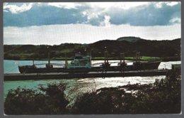 CP FF-567- Sunset - Miraflores Locks   Panama Canal. Unused - Panama