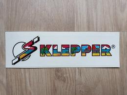 Aufkleber Mit Werbung Für Die Firma KLEPPER (Surfbretter) - Aufkleber