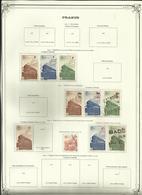 France - Timbres Colis Postal Livraison à Domicile - 1942 à 1943 - Sur Charnière   - Réf.38 - - Colis Postaux