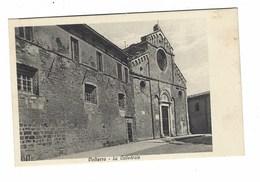 3821 - VOLTERRA PISA LA CATTEDRALE 1920 CIRCA - Italia