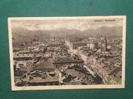 Cartolina Cuneo - Panorama - 1940 - Cuneo