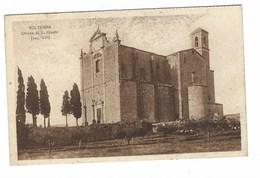 3822 - VOLTERRA PISA CHIESA DI S GIUSTO 1920 CIRCA - Italia