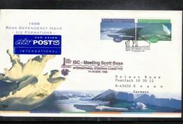 Ross Dependency Antarctica 1998 Scott Base ISC Meeting Interesting Cover - Ross Dependency (New Zealand)