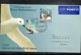 Ross Dependency Antarctica 1998 Antarctic Sea Birds Interesting Cover - Ross Dependency (New Zealand)