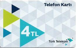 Turkey - TT (chip) - C-0324J - Telefon Karti (White), Chip CHT05, Ağustos 2019, 4₤, Used - Turkije