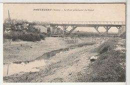 02 - PONTAVERT - Le Pont Provisoire Du Canal - Francia