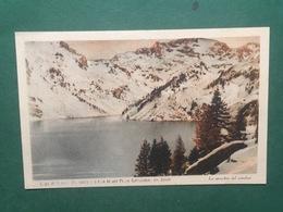 Cartolina Lago Di Devero - Coi Fianchi Del Pizzo Cervandone - Lo Specchio - 1925 - Cuneo