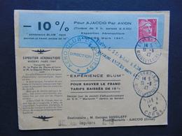 Lettre établie Après L'émission Du N°. 719A Et Avant L'émission Du 719AA (catalogue Maury) - Variétés Et Curiosités